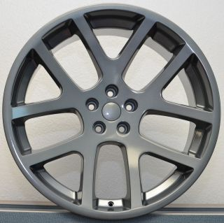 SRT8 Comp Grey Gray 300C Challenger Charger Magnum Wheels Rims Set
