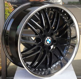 22 staggered black wheels rims fit BMW X5 X6 Clearance Priced   Three