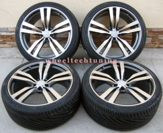 BMW X6 M STYLE AND X5 3.0, 4.4, 4.8 WHEELS AND TIRES   BMW X5 X6 RIMS