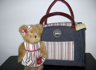 Boyds Bears Collectibles, Plush, Resin, Lot of 3, Purse, Handbag,C.C