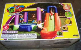Bounce & Slide w water splash pool Inflate Bounce House