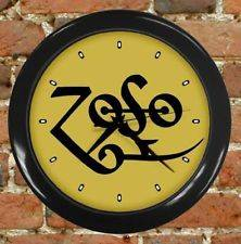 NEW ZOSO Led Zeppelin Rock Band Wall Clock Decor