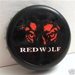 Red Wolf An Busch Beer Advertising Bottle Cap Opener