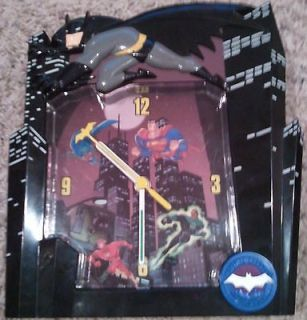 League of America Dark Knight Wall Clock Superman Flash Green Lantern