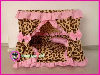 Handmade Luxury Dog Pet Cat House Dog Pet Cat Bed Bedding Shelter