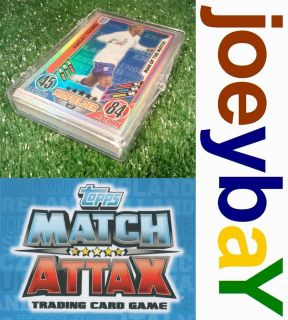 COMPLETE YOUR EURO 2012 MATCH ATTAX ENGLAND  CHOOSE FULL SET FROM