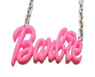 NEW NICKI MINAJ STYLE PINK BARBIE PENDANT & 18 CHAIN NECKLACE   MP586