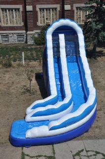 Water Slide Inflatable Slide Bounce House Wet Slides Party Rental