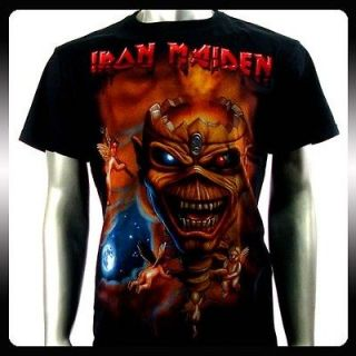 iron maiden shirt in Clothing,