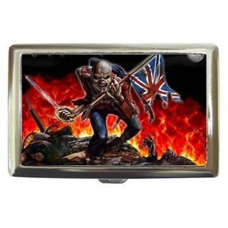 iron maiden wallet in Clothing,