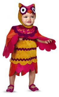 Cute Hoot Owl Child/Infant Toddler Halloween Costume