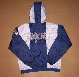 VINTAGE Georgetown JACKET Starter HOYAS Medium NCAA Rare RAP Hip Hop W