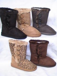 leopard boots in Kids Clothing, Shoes & Accs