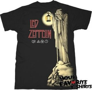Led Zeppelin The Hermit ZOSO Licensed Adult Shirt S XXL