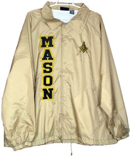 Mason 5 Letter Mens Classic Crossing Line Coachs Jacket