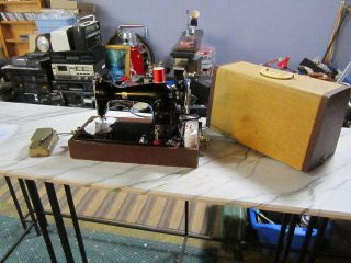 Vintage Japan Montgomery Ward Precision Built Sewing Machine