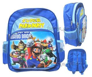 super mario bros backpack in Kids Clothing, Shoes & Accs