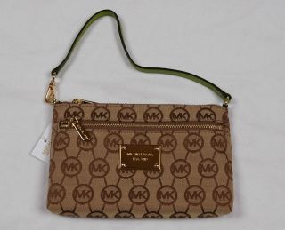 michael michael kors jet set large wristlet in Womens Handbags & Bags