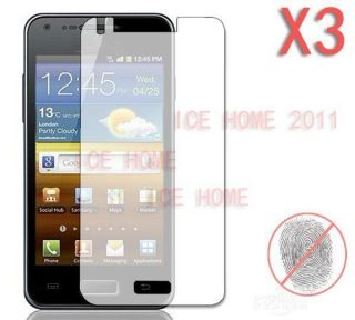 3X Matte Anti Glare Screen Protector For Samsung Galaxy S Advance