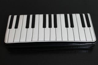 NWT Kate Spade Piano Keyboard Duets Clutch Bag Purse