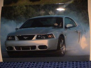 WOW 2003 FORD MUSTANG COBRA POWER ON PRESS KIT COLOR SUPER GLOSS
