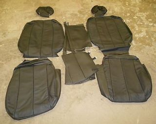 10 Hyundai Sonata GLS New Black Premium Leather Seat Upholstery kit