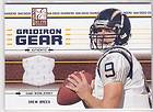 2004 Donruss Elite Gridiron Gear Bronze Drew Brees #GG 5 193/250