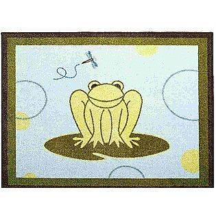 HOPPER Boys Nursery Room Rug   FROG Nursery Decor Floor Mat Rug