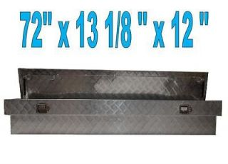 Aluminum Truck PickUp Side Mount Tool Box 72x13 1/8x12
