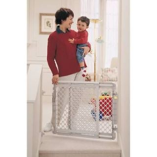 NORTH STATES STAIRWAY SAFETY BABY PET DOG GATE CHILD PLASTIC STAIR