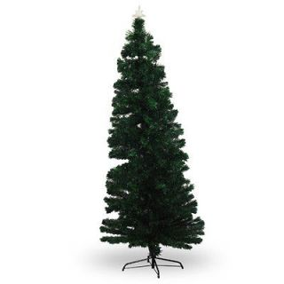 FT Pre Lit Multi Color LED Fiberoptic Artificial Christmas Tree