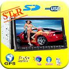 New In Dash Car Radio CD DVD  Player GPS Ipod Bluetooth Audio Aux