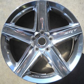 Used OEM Alcoa Rear Wheel 09 10 Jeep Grand Cherokee SRT8 20 x 10