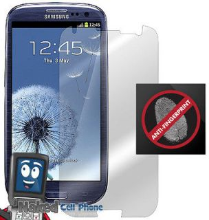 ANTI GLARE FINGERPRINT LCD SCREEN PROTECTOR FOR SAMSUNG GALAXY S 3 III