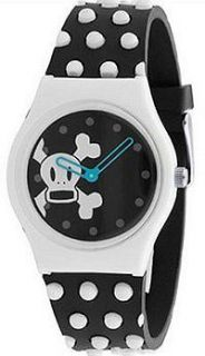 Paul  Frank Julius & Friends  Black and White Skurvy Watch