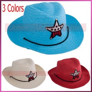 kids straw cowboy hat in Kids Clothing, Shoes & Accs