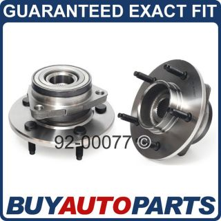 PAIR FORD F150 FRONT WHEEL HUBS BEARINGS 97 98 99 4X4 (Fits 1997 Ford