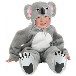 Little Koala Bear Baby Infant Toddler Plush Animal Halloween Costume
