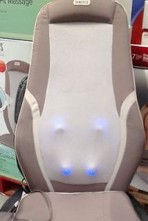 HOMEDICS SHIATSU back Massage With Heat Cushion