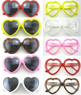 Y1178)High Quality Heart Shape UV Sunglasses and Optical glasses