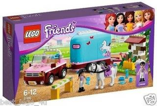 LEGO Friends Emmas Horse Trailer 3186 Emma