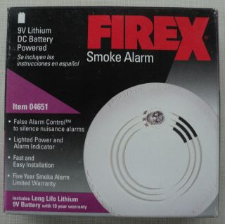 FireX Smoke Alarm Model 4651 WINNEBAGO ITASCA RV CAMPER TOY HAULER
