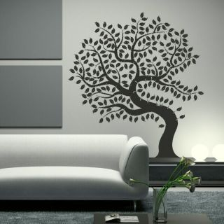 AMAZING HUGE TREE OF LIFE WALL ART DECAL STICKER giant tattoo picture