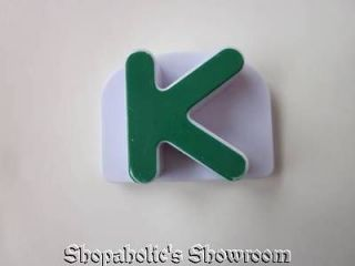 Phonics Word Whammer Magnetic Replacement Uppercase Letter K K
