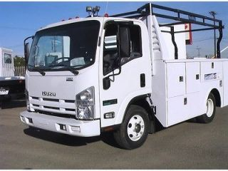 /month NEW ISUZU NPR ECO MAX diesel PLUMBERS UTILITY SERVICE 16 19MPG