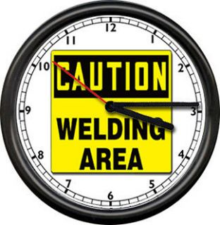 Welding Arc Wire Feed Welder Repair Tools Iron Worker Caution Sign
