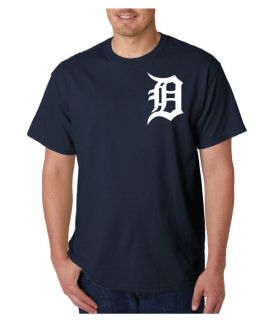 DETROIT TIGERS MLB T SHIRT TIGERS BASEBALL TEE SHIRT TEE