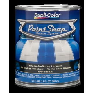 DUPLICOLOR PAINT SHOP CHROME YELLOW LACQUER RTS 1 QUART