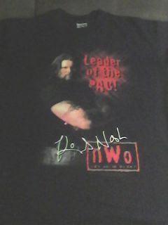 KEVIN NASH NWO WCW XL SHIRT Diesel hogan scott hall wwe wwf wcw ecw