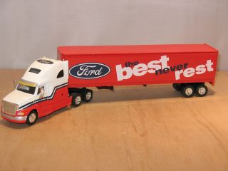 FORD THE BEST NEVER REST FORD AEROMAX SEMI TRUCK & TRAILER #31007